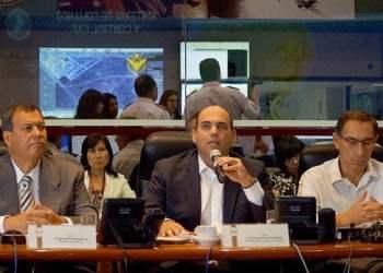 El jefe del Gabinete Ministerial lideró sesión informativa del COEN.