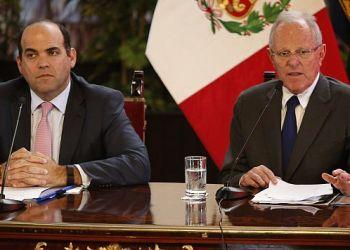 El presidente Kuczynski confirmó que Fernando Zavala liderará el proceso de la reconstrucción