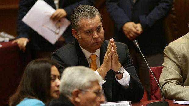 Congresista Albrecht renunció a la presidencia de la Comisión Lava Jato