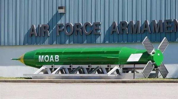 El Ejército estadounidense lanzó, este jueves, en Afganistán, una enorme bomba que es considerada la más poderosa existente