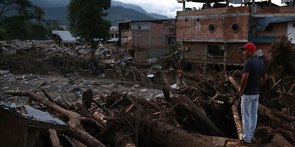 Avalancha en Mocoa (Putumayo) en la que han muerto más de 150 personas