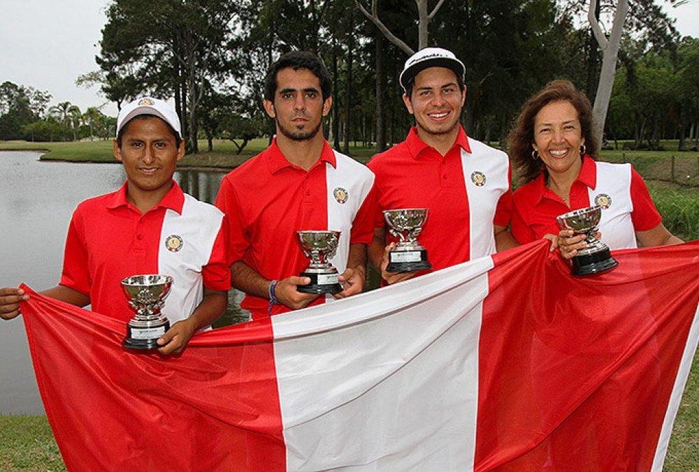 Perú se consagró campeón sudamericano juvenil de golf