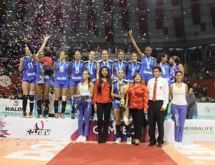 El club Regatas Lima lidera el ranking de máximos campeones de la LNSVF.