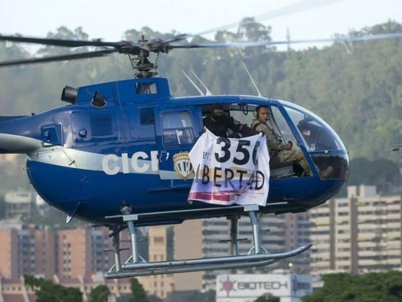Disparos y dos granadas fueron despedidos de helicóptero que sobrevoló TSJ