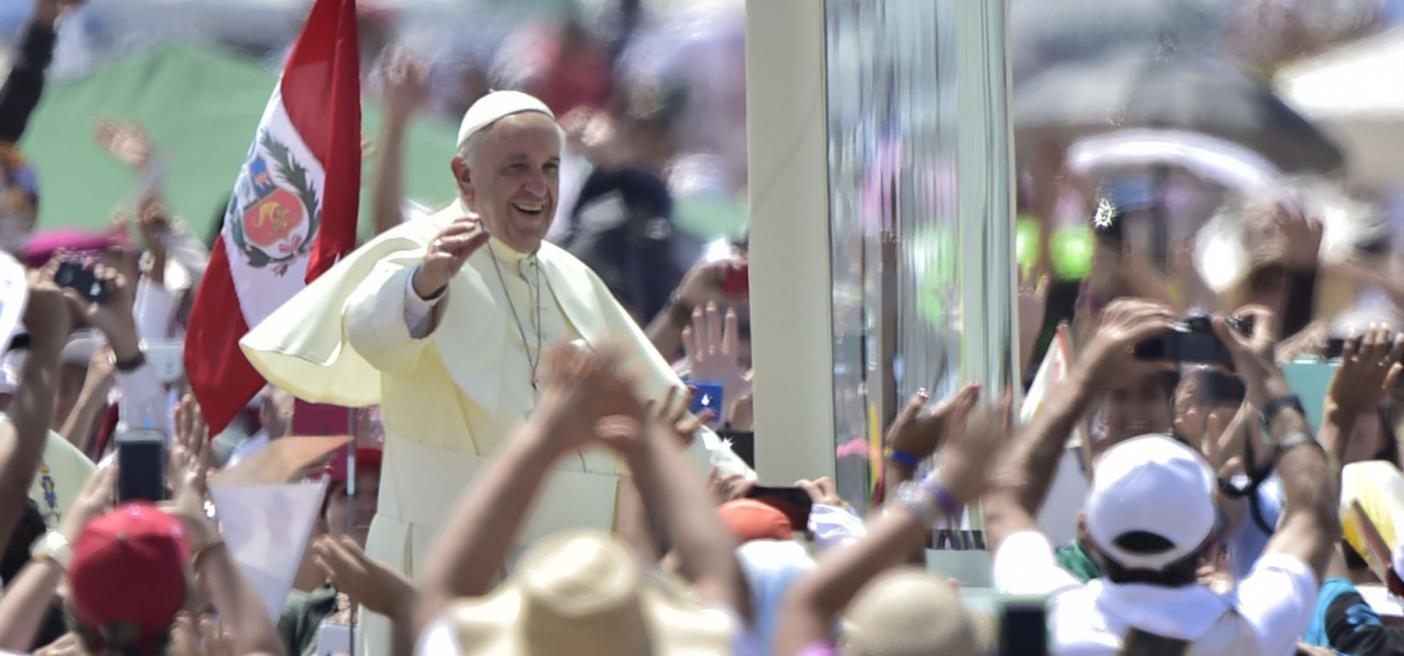 Papa Francisco visitará el Perú del 18 al 21 de enero del 2018