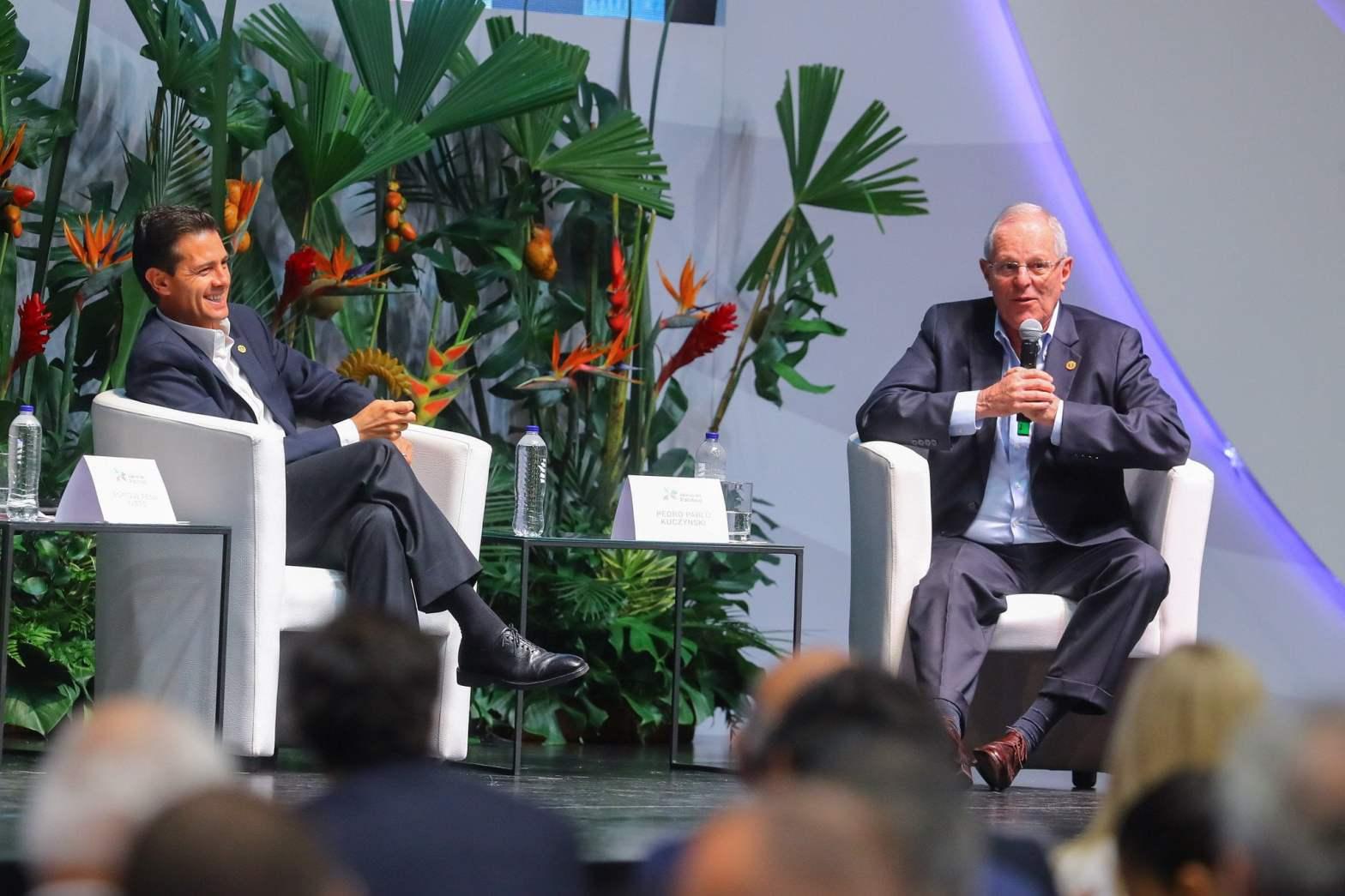 """Kuczynski: """"El gran reto de la Alianza del Pacífico es generar trabajo"""""""
