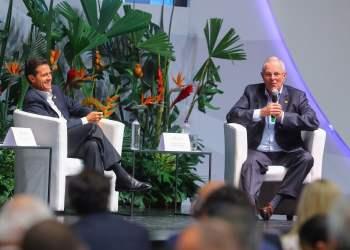 El presidente Kuczynski habló de economía, de turismo, y los nuevos miembros del bloque de la Alianza del Pacífico.