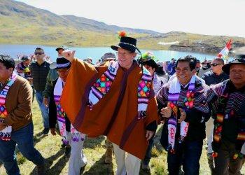El presidente Kuczynski cumplió actividades en la sierra del Perú.