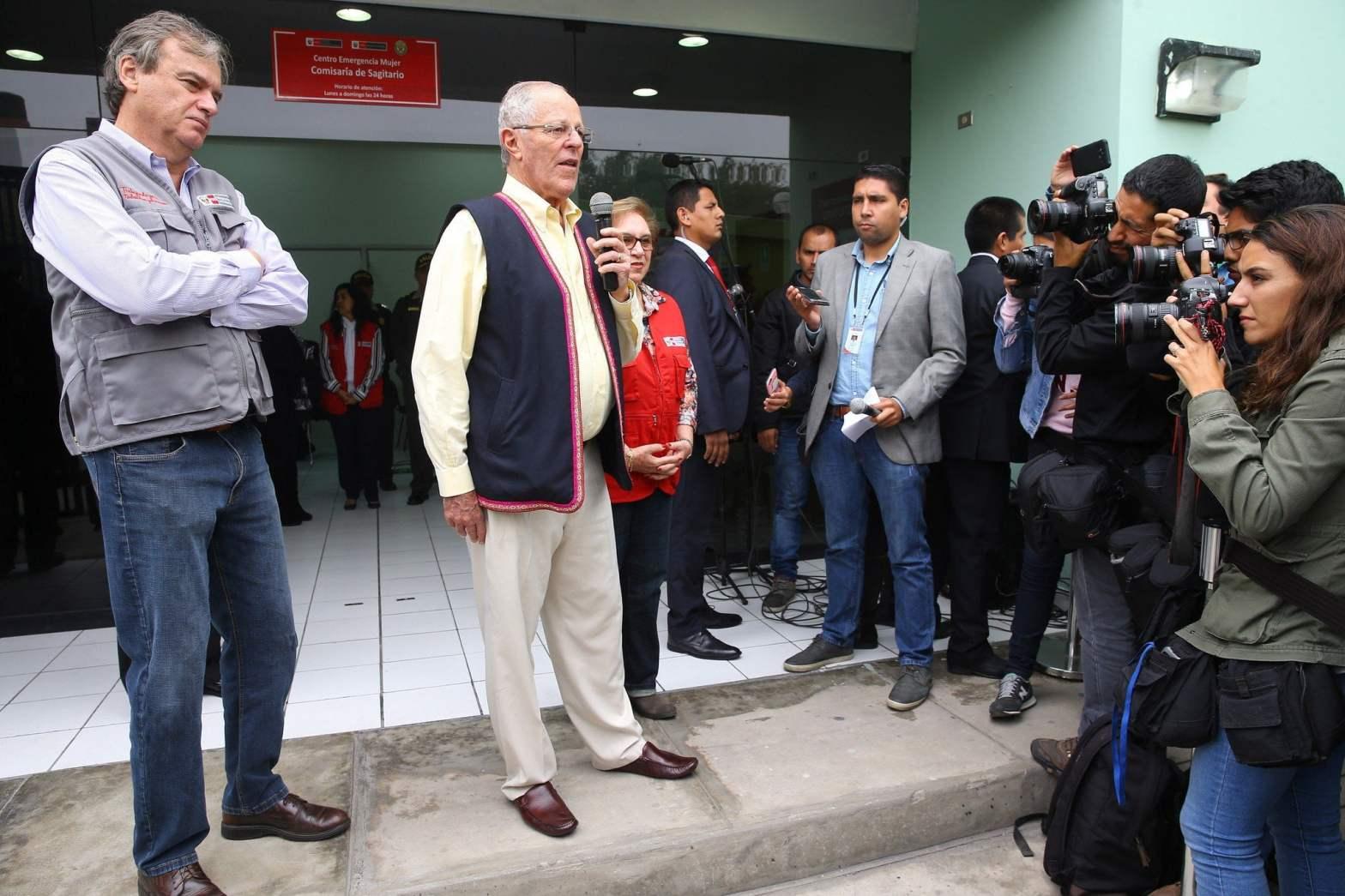 """Pedro Pablo Kuczynski: """"Basta de violencia e imprudencia en el Perú"""""""