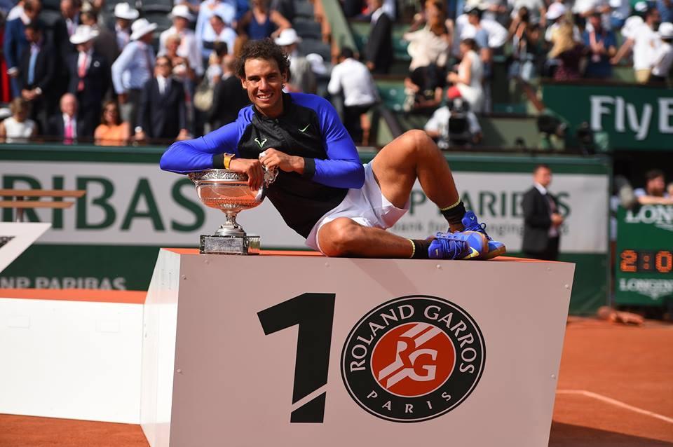 Rafael Nadal agigantó su historia al conquistar su décimo Roland Garros