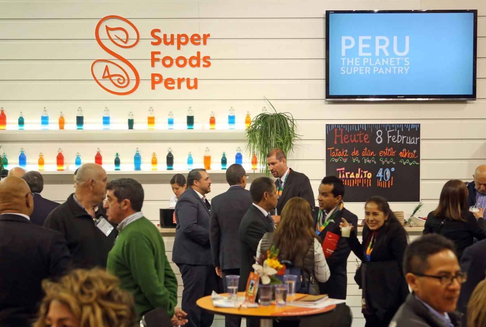 Perú presentó por primera vez los superfoods en Madrid