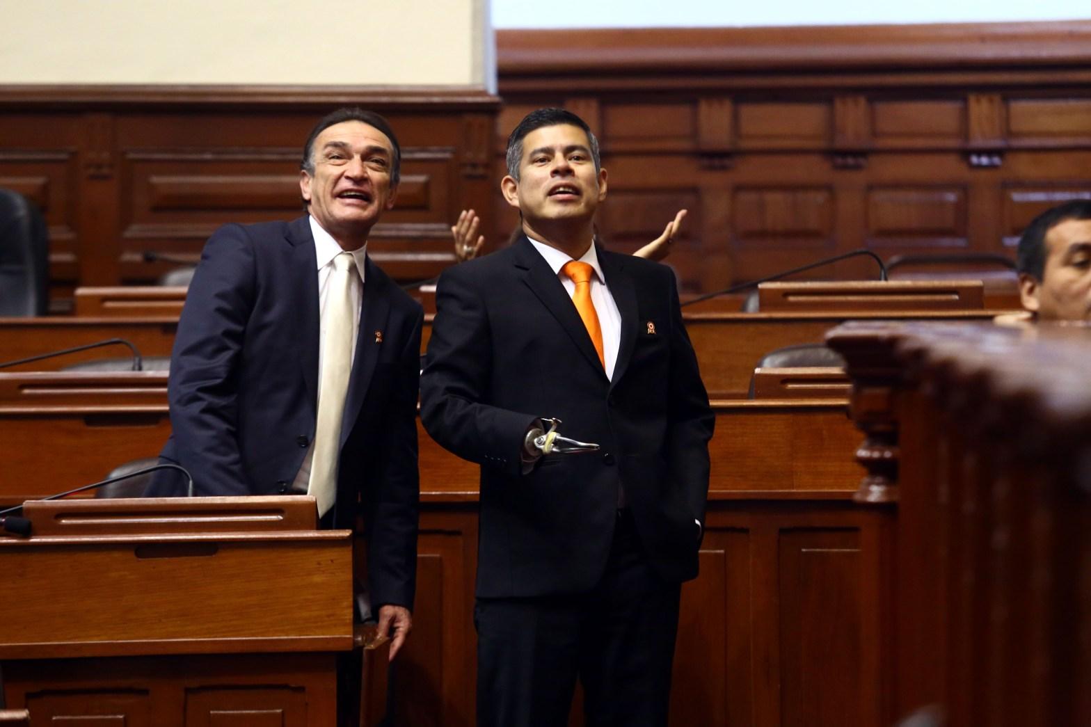 Fujimorista Luis Galarreta es elegido presidente del Congreso