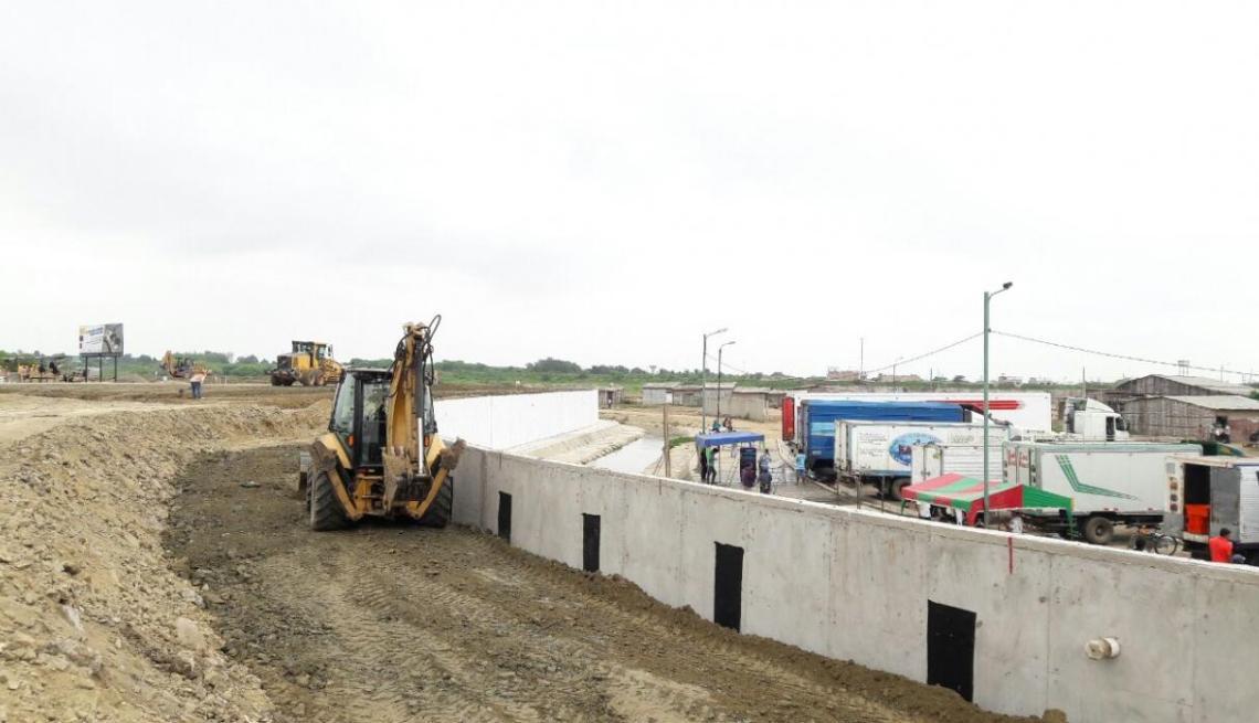 La construcción del muro por parte de Ecuador ha generado protestas del gobierno peruano.