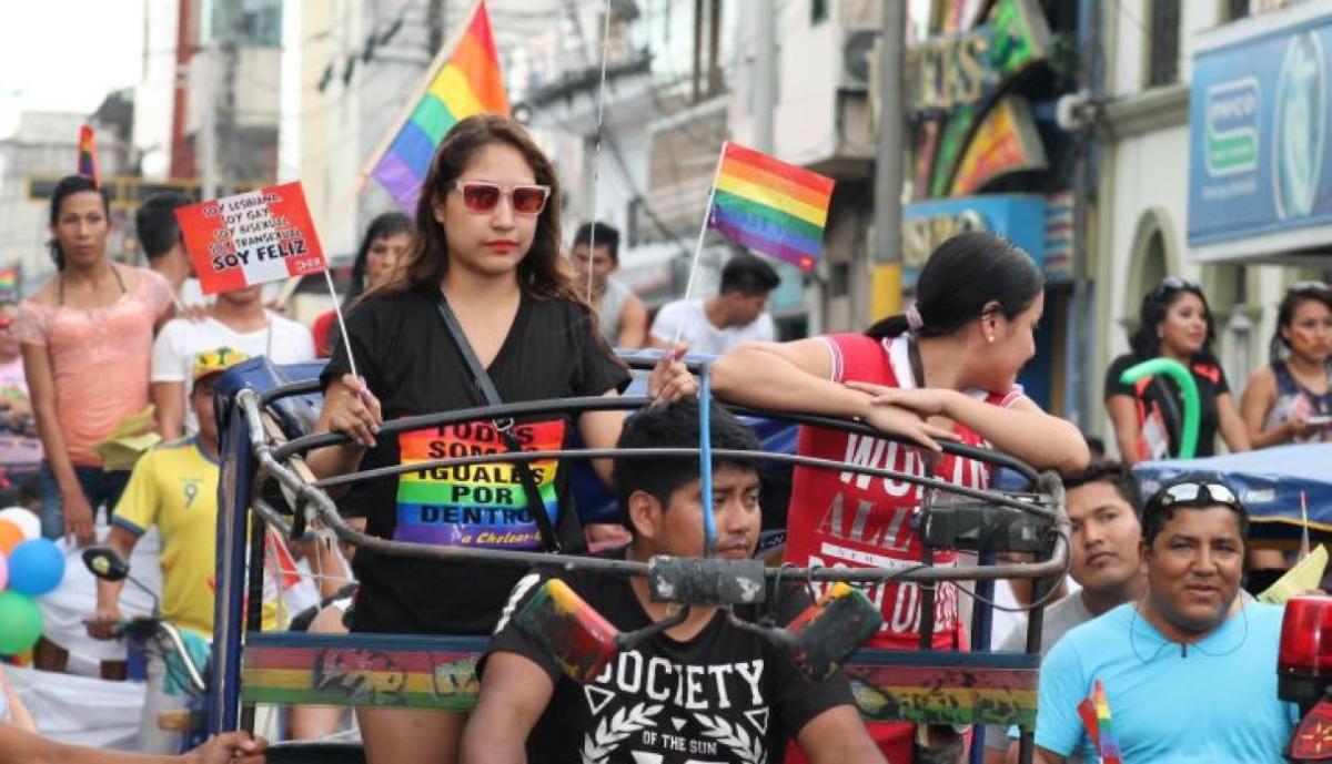 Marcha del orgullo LGTBI