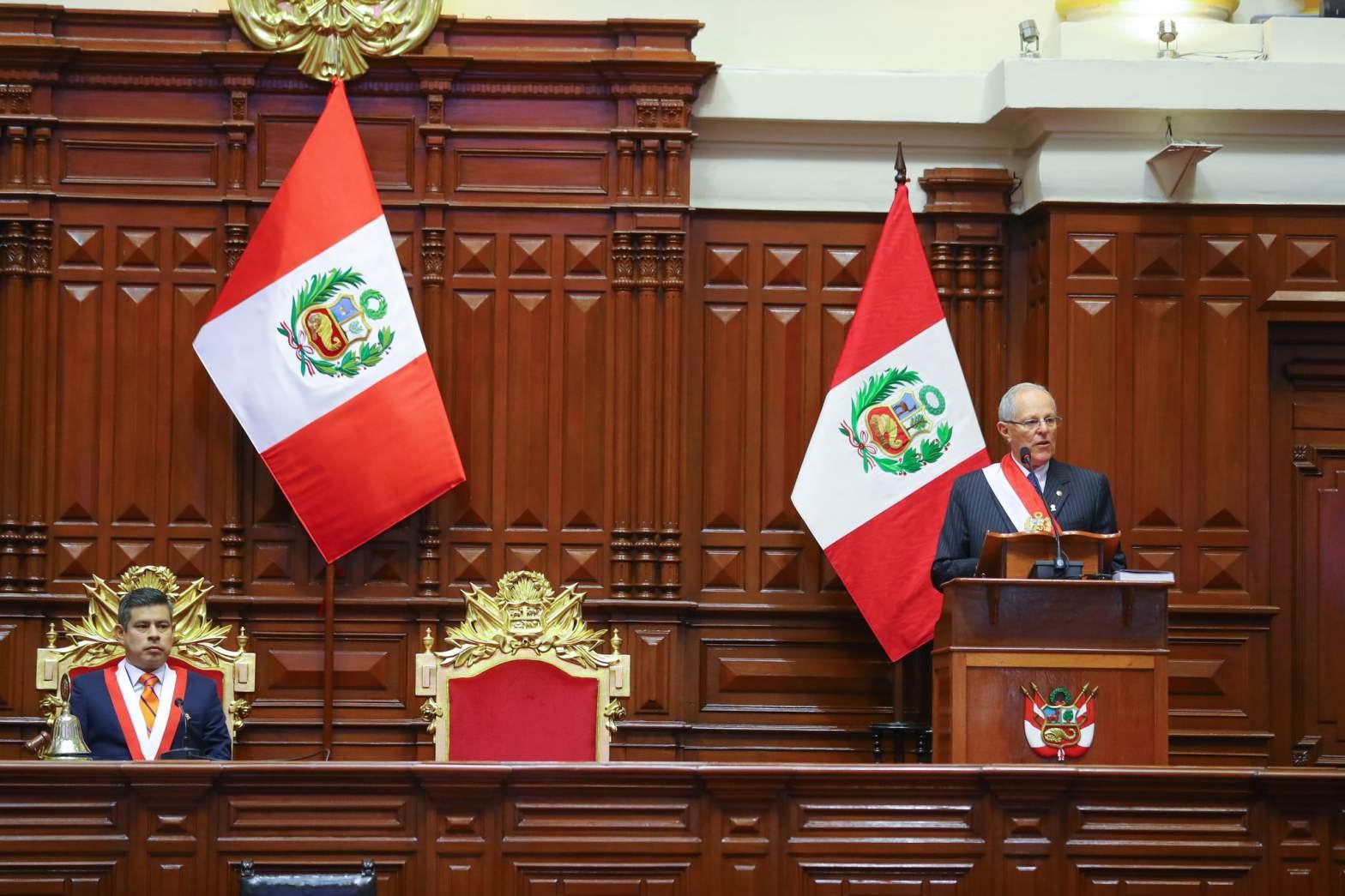 """Kuczynski: """"El país ha logrado grandes avances en los ejes de la revolución social"""""""