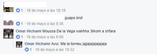 Conversación entre abatido y hermano de otro de los terroristas