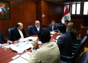 Luis Galarreta inició reuniones con bancadas parlamentarias para armar Agenda Legislativa.