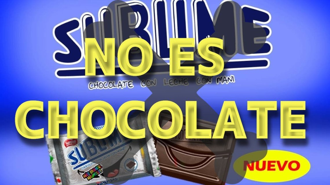 Sublime no es chocolate