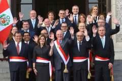 Los nuevos ministros del gabinete presidido por Mercedes Aráoz