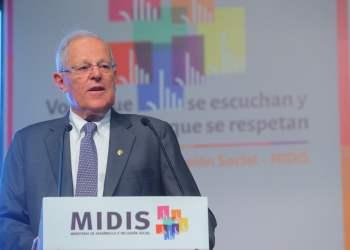 El presidente Kuczynski propuso la creación del voluntariado para ejecutar proyectos.