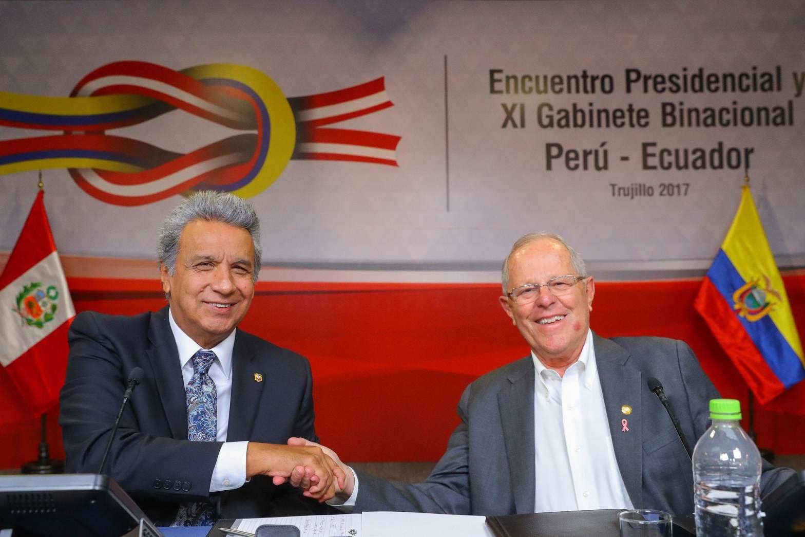 Presidentes Kuczynski y Moreno inauguraron el Binacional Perú-Ecuador