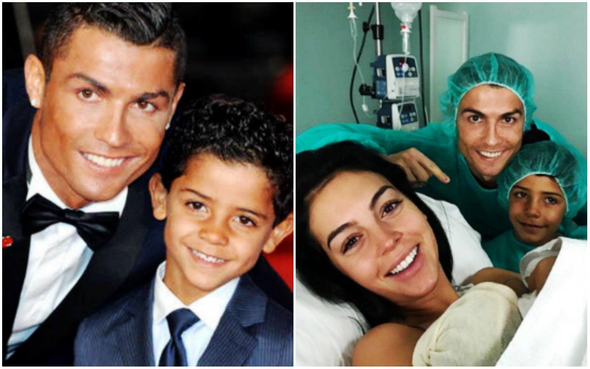 Cristiano Ronaldo feliz por nueva hija