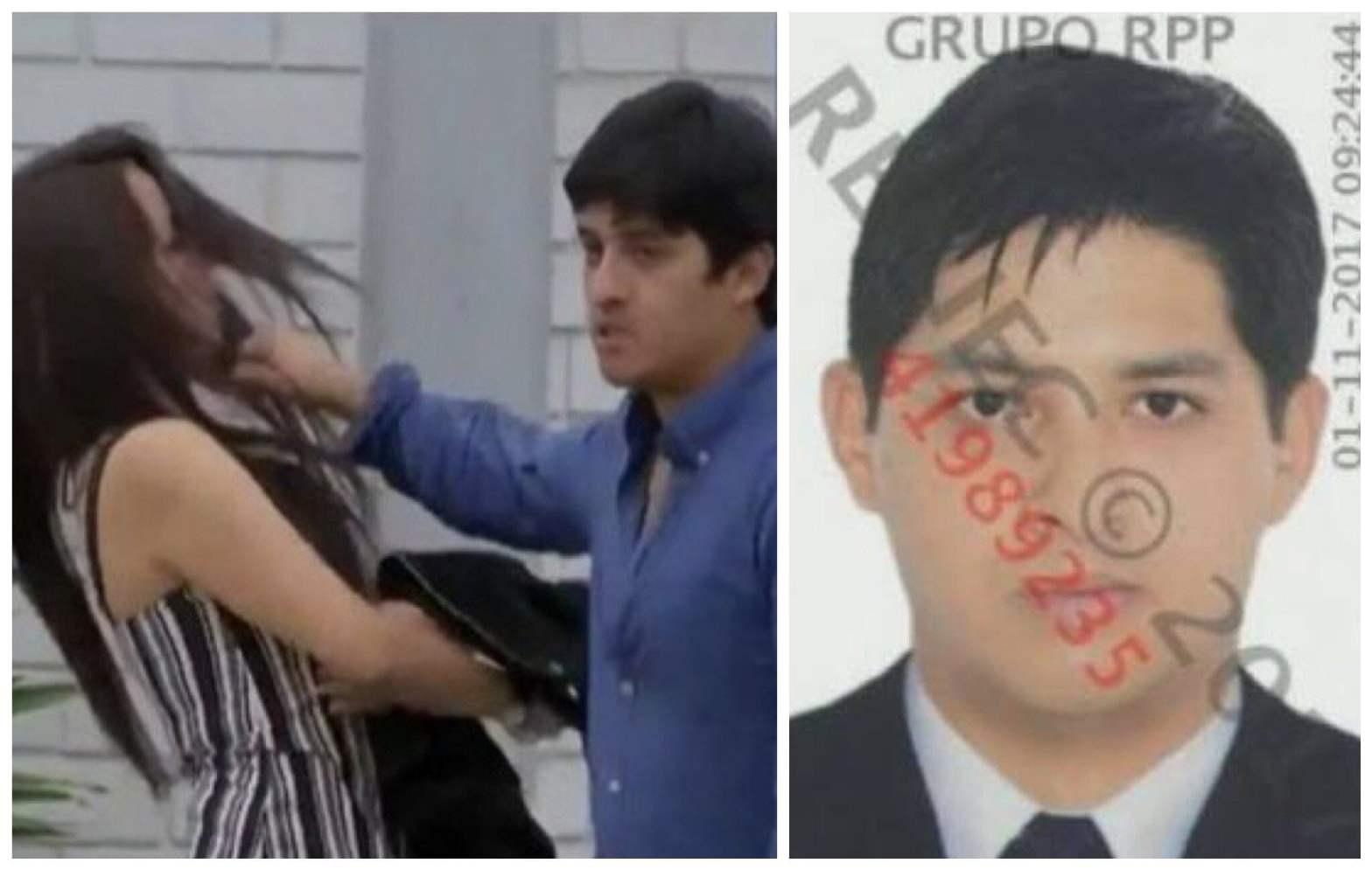 Identifican a hombre que agredió a mujer y videoreportero en Chorrillos