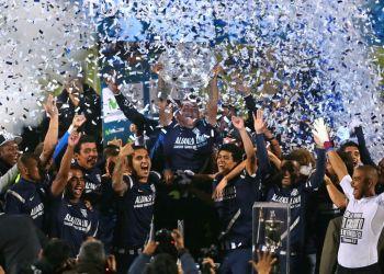 Alianza Lima se proclamó campeón del fútbol peruano.