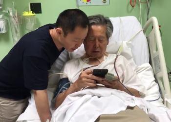 Alberto Fujimori agradeció el indulto concedido por el presidente Kuczynski.