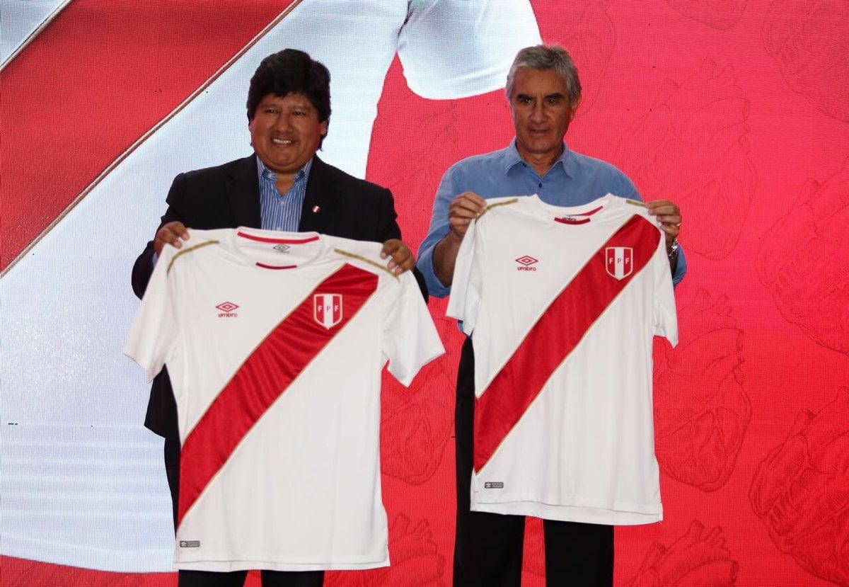 Rusia 2018: Presentaron camiseta que Perú vestirá en el mundial