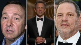 Globos de Oro Kevin Spacey y Harvey Weinstein ridiculizados por acoso sexual
