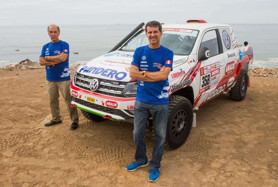 Los Ferrand en el Dakar 2018