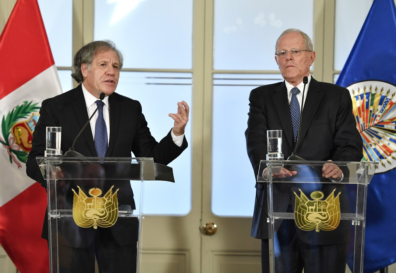 "Almagro: ""Kuczynski demostró firmeza y liderazgo para firmar el indulto"""
