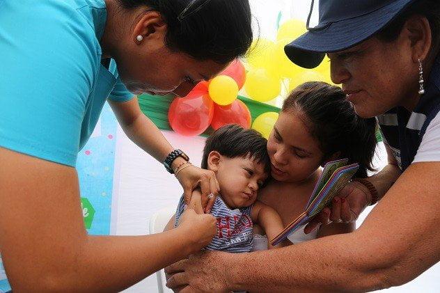 Primeras 100 mil dosis de vacuna contra la varicela llegarán este mes, gracias a donación de países vecinos