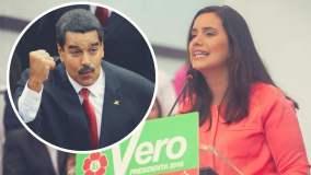 Verónika Mendoza sobre Nicolás Maduro