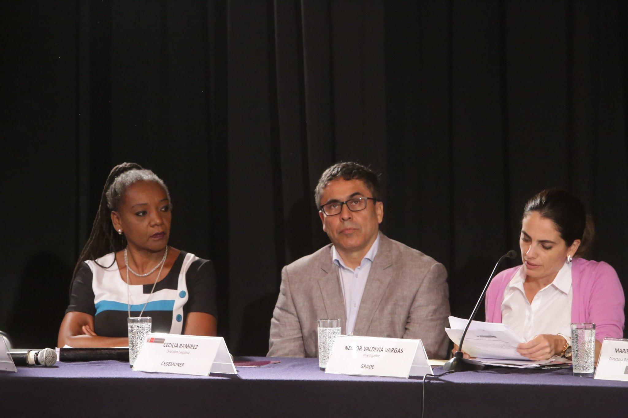 Ministerio de Cultura presenta los resultados de la I Encuesta Nacional Percepciones y actitudes sobre diversidad cultural y discriminación étnico-racial.