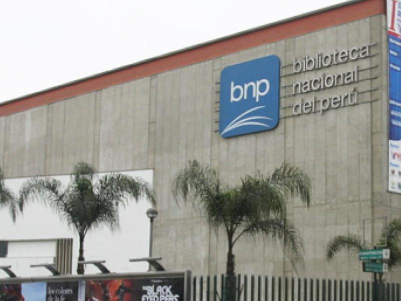 BNP BUSCA DISEÑAR MODELO DE SISTEMA NACIONAL DE BIBLIOTECAS DEL PERÚ