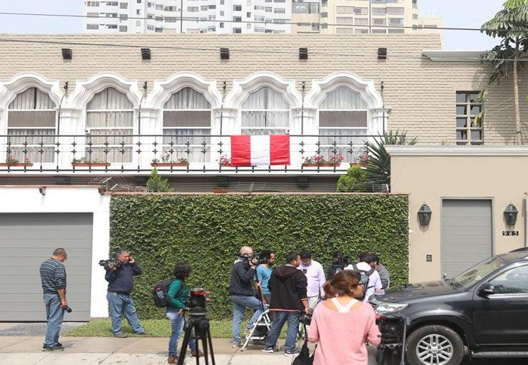 Casa de PPK en la calle Choquehuanca - San Isidro