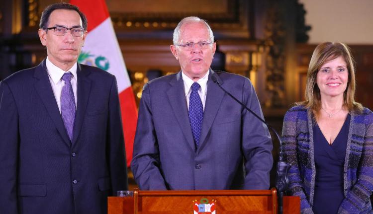 La premier Mercedes Aráoz reiteró que es leal al presidente Kuczynski y a la gobernabilidad del país.