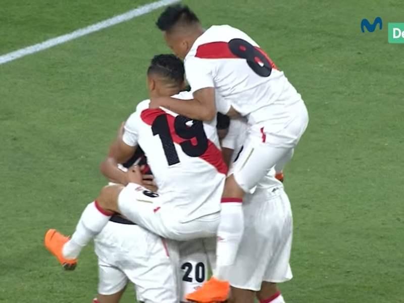 Perú vs Croacia los goles