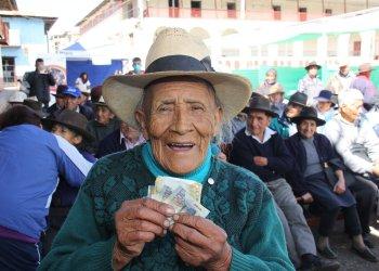 Usuarios de Pensión 65 podrán cobrar sus pensiones