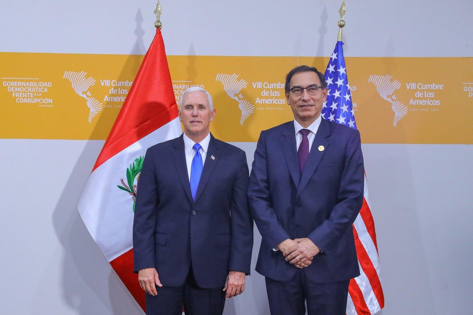 Estados Unidos reconoce solida institucionalidad democrática del Perú