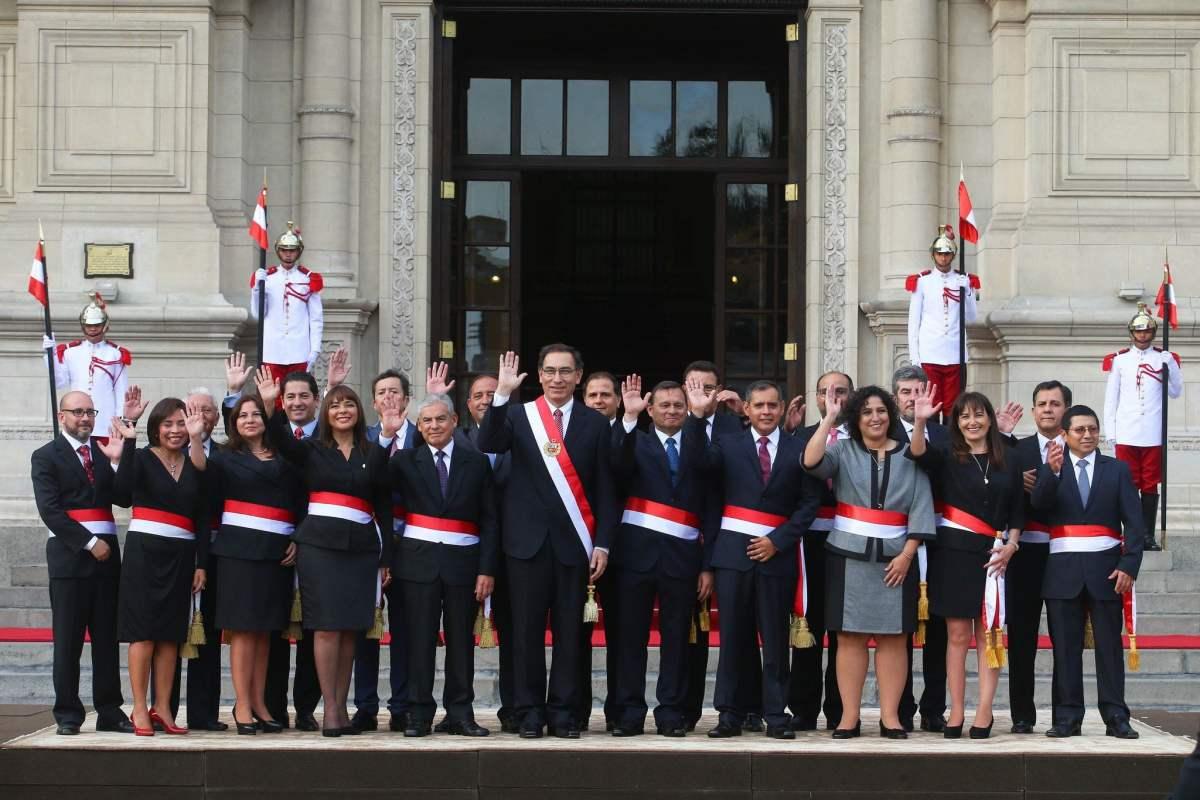 Nuevo gabinete ministerial