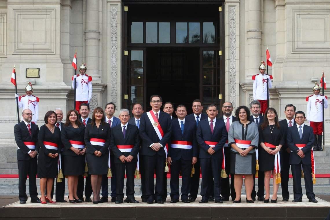 El premier César Villanueva acudiría al Congreso con sus ministros para solicitar el voto de confianza a inicios del mes de mayo.