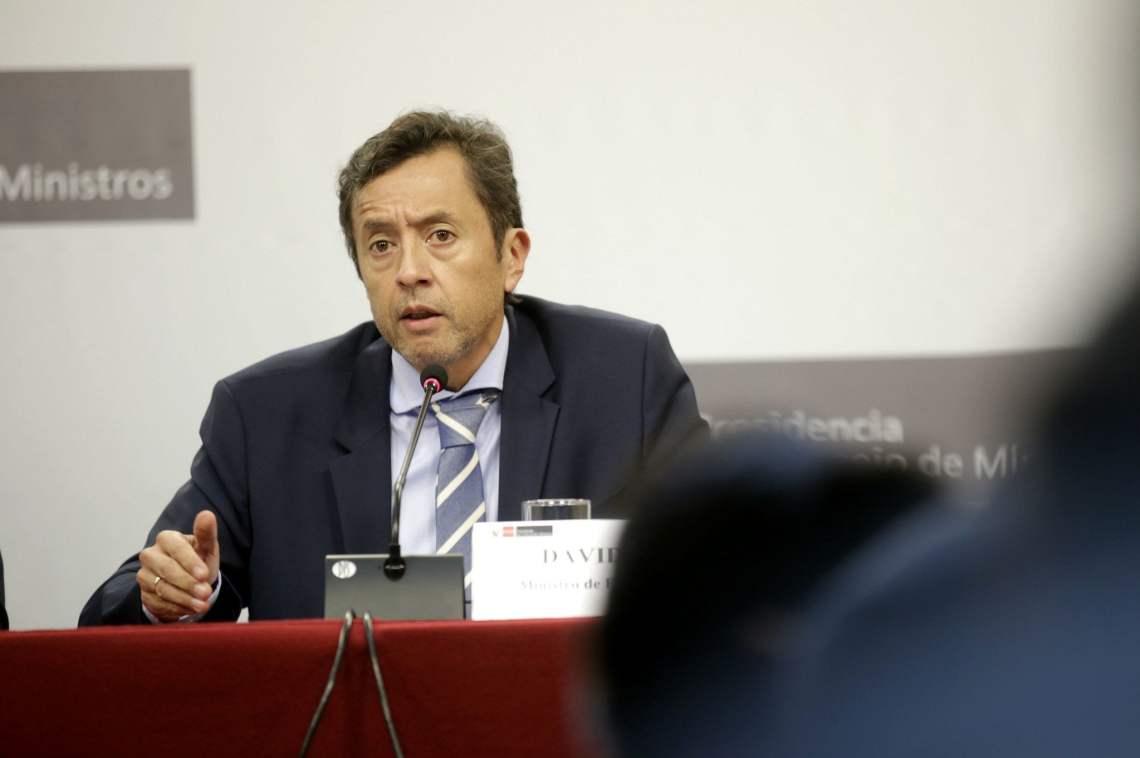 El ministro David Tuesta señaló que todas las partes involucradas en la Economía deben estar alineadas.