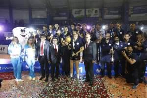 U. San Martín se consagró tetracampeón nacional del voleibol femenino