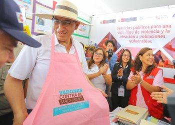 El presidente Vizcarra se unió a la campaña contra el machismo