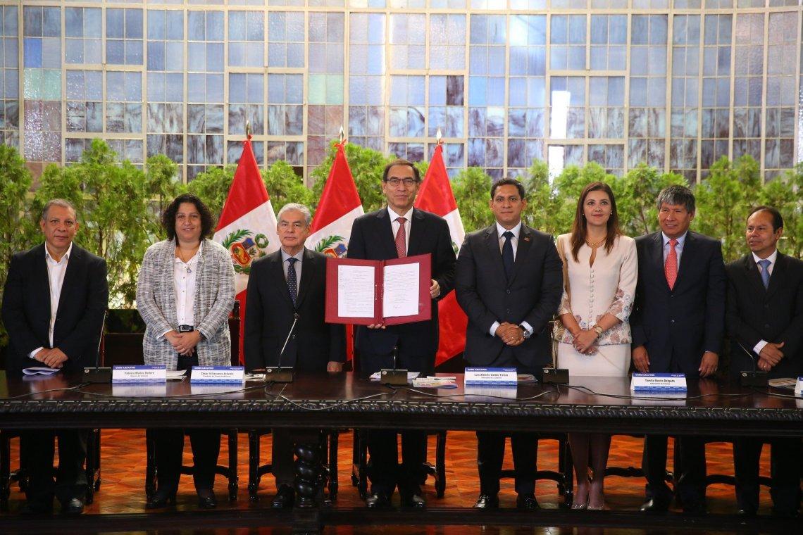 Con la promulgación de la Ley del Cambio Climático el Perú da un paso más hacia el objetivo de ingresar a la OCDE.