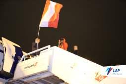 Mundial Rusia 2018: Así despidieron a la selección peruana en el Aeropuerto Internacional Jorge Chávez