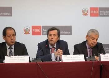 El titular del MEF, David Tuesta, afirmó el reglamento de la Ley 30737 permitirá la reactivación económica.